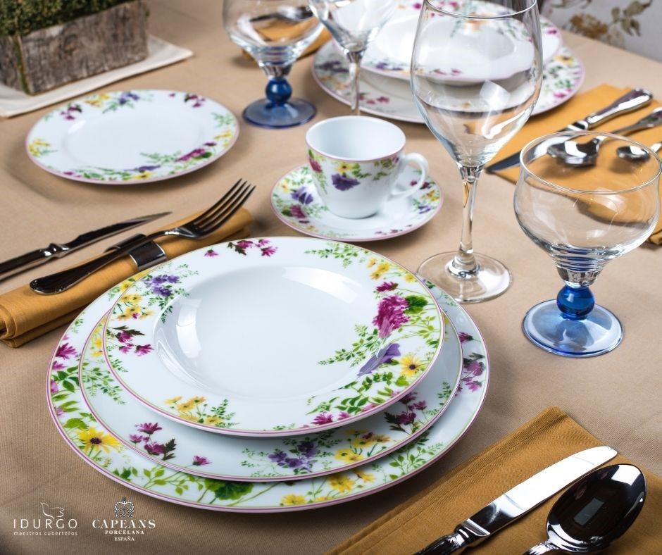 Arte y decoración en la mesa