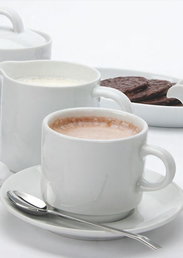 Vajilla café